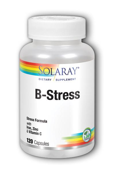 Image of B-Stress with Iron, Zinc & Vitamin C