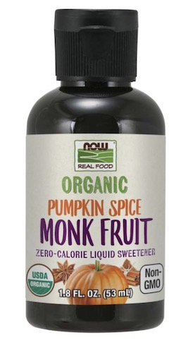 Image of Monk Fruit Liquid Organic Pumpkin Spice