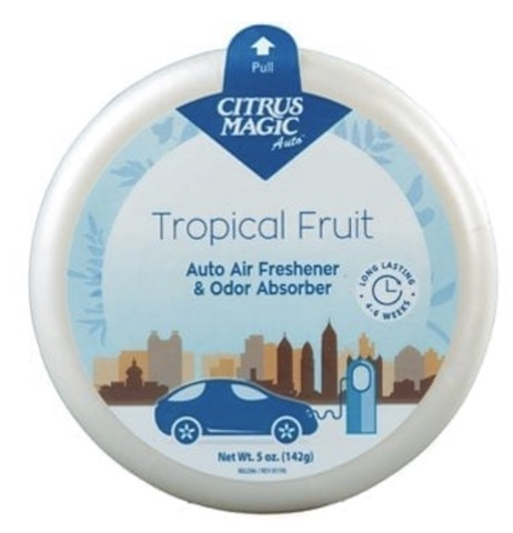 Image of Auto Air Freshener Solid Tropical Fruit