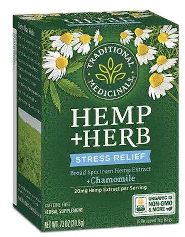 Image of Hemp + Herb Stress Relief Tea