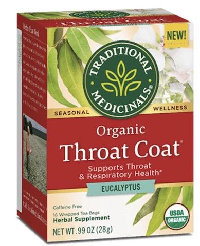 Image of Throat Coat Eucalyptus Tea