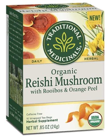 Image of Reishi Mushroom with Rooibos & Orange Peel Tea