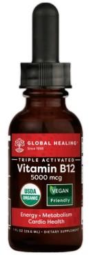 Image of Vitamin B12 5000 mcg Triple-Activated Liquid