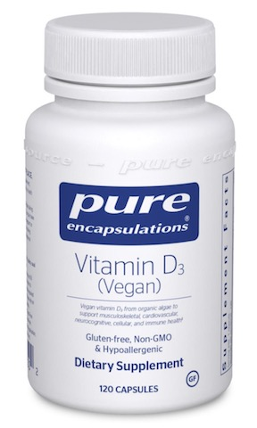 Image of Vitamin D3 (Vegan) 50 mcg