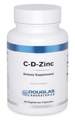 Image of C-D-Zinc 800 mg/25 mcg/15 mg