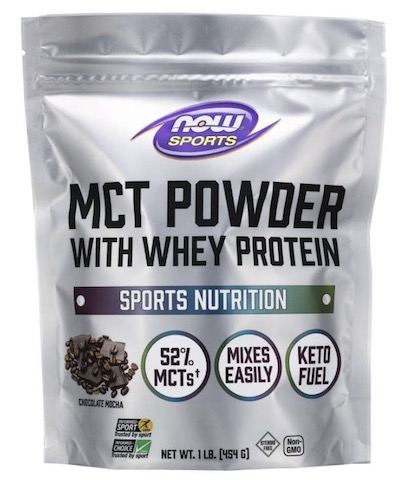 Image of MCT Powder with Whey Protein Chocolate Mocha