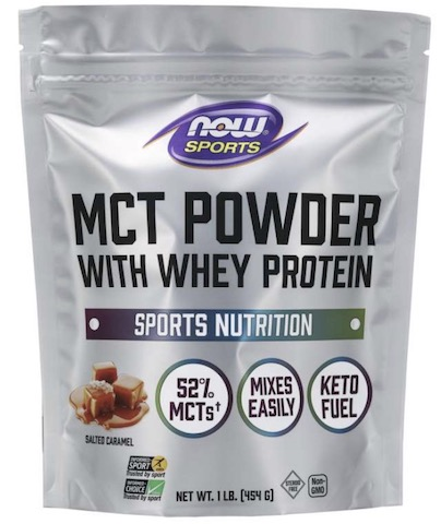 Image of MCT Powder with Whey Protein Salted Caramel