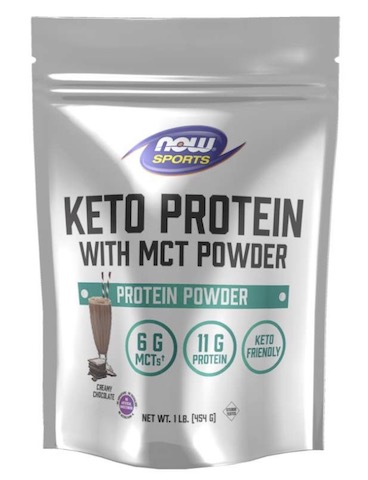 Image of Keto Protein with MCT Powder Creamy Chocolate