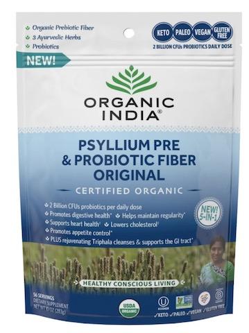 Image of Psyllium Pre & Probiotic Fiber Powder Original