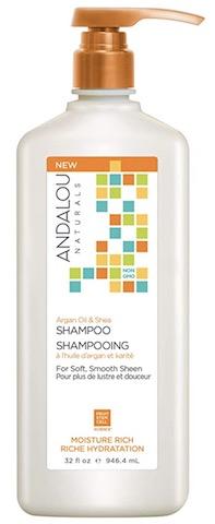 Image of Shampoo Moisture Rich Argan Oil & Shea