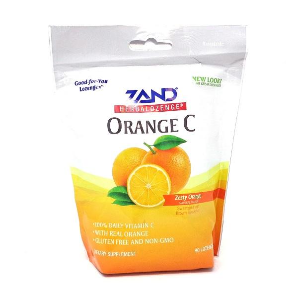 Image of HerbaLozenges Orange C Zesty Orange