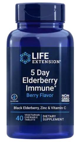 Image of 5 Day Elderberry Immune (Berry Flavor) Chewable