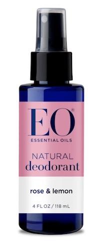 Image of Deodorant Spray Rose & Lemon
