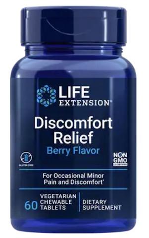 Image of Discomfort Relief Chewable Berry