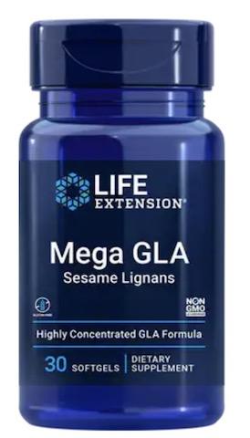 Image of Mega GLA with Sesame Lignans 400/10 mg