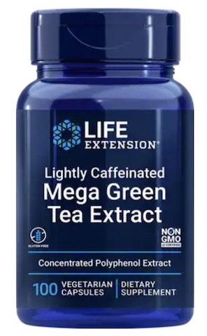 Image of Mega Green Tea Extract 725 mg LIGHTLY CAFFEINATED