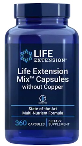 Image of Life Extension Mix Capsules without Copper