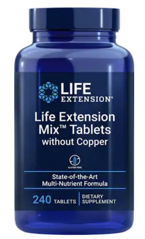 Image of Life Extension Mix Tablets without Copper