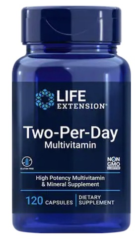 Image of Life Extension Two-Per-Day Capsules