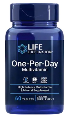 Image of Life Extension One-Per-Day Multivitamin Tablet