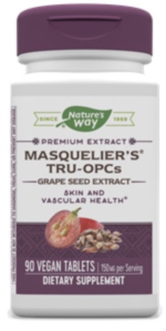 Image of Masqulier's Tru-OPCs Grape Seed Extract 75 mg