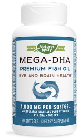 Image of Mega-DHA Fish Oil 1000 mg