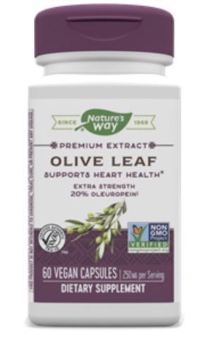 Image of Olive Leaf (20% Oleuropein) 250 mg Standardized