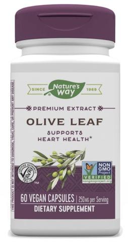Image of Olive Leaf (12% Oleuropein) 250 mg