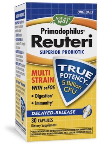 Image of Primadophilus Reuteri Probiotic 5 Billion Capsule