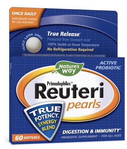 Image of Primadophilus Reuteri Pearls Probiotic 1 Billion