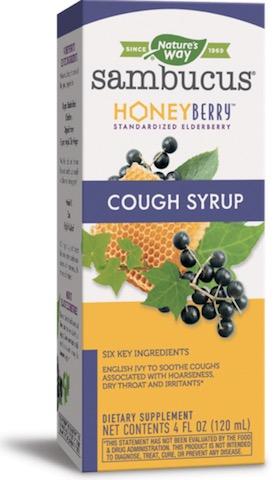 Image of Sambucus Cough Syrup Honey Berry