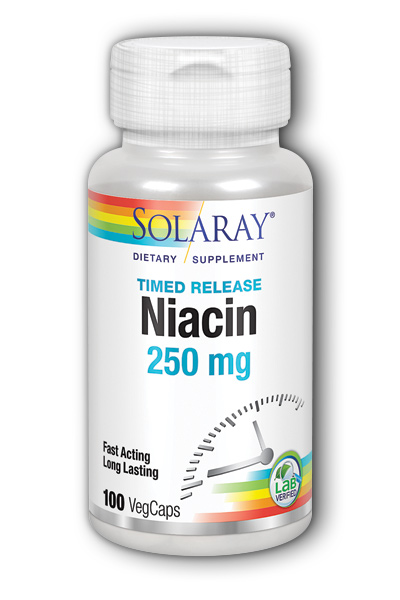 Image of Niacin 250 mg Timed Release