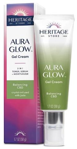 Image of Aura Glow Gel Cream Balancing CBD