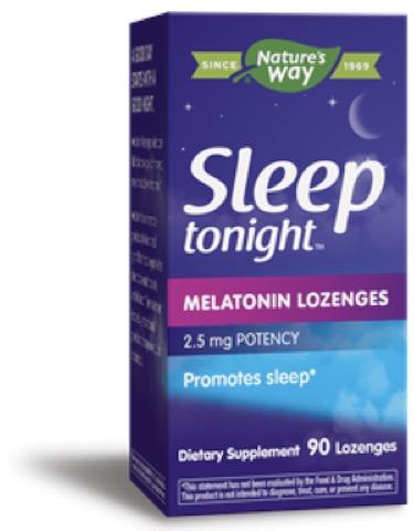 Image of Sleep Tonight Melatonin Lozenges 2.5 mg