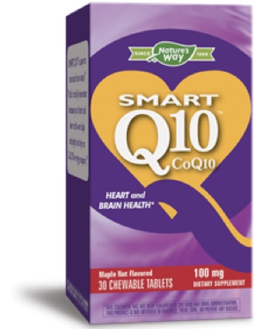 Image of SMART Q10 CoQ10 100 mg Chewable Maple Nut