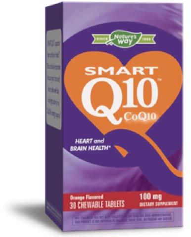 Image of SMART Q10 CoQ10 100 mg Chewable Orange