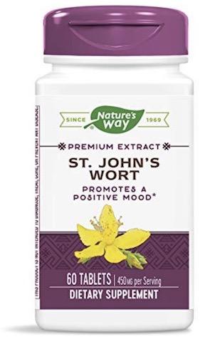 Image of St. John's Wort 450 mg Standardized Tablet