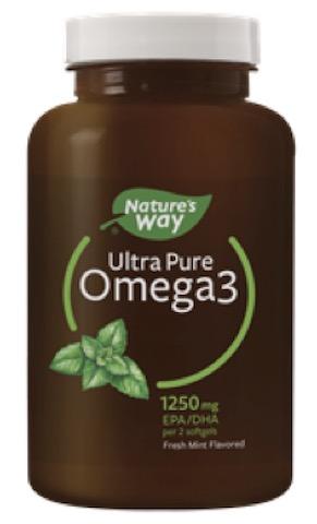 Image of Ultra Pure Omega3 1250 mg Softgel Fresh Mint