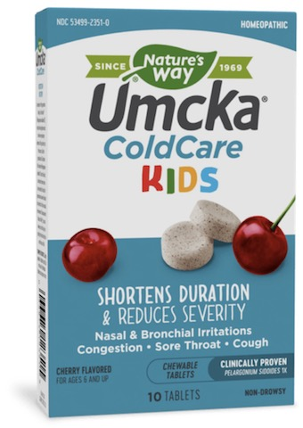 Image of Umcka Cold Care KIDS Chewable Cherry