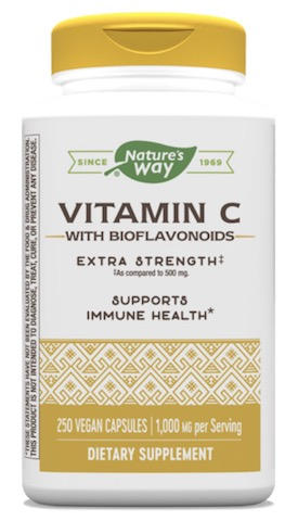 Image of Vitamin C with Bioflavonoids Extra Strength 1,000/50 mg