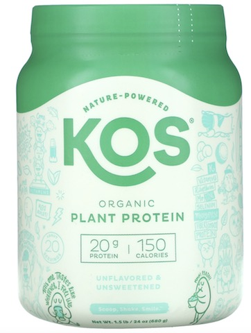 Image of Plant Protein Powder Unflavored & Unsweetened Organic