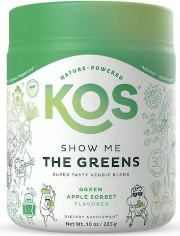 Image of Show Me The Greens (Veggie Blend) Powder Green Apple Sorbet