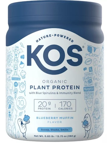 Image of Plant Protein Powder Blueberry Muffin