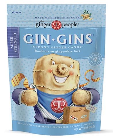 Image of Gin Gins Hard Ginger Candy Super Strength Bag