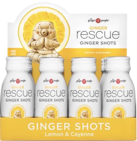 Image of Ginger Rescue GInger Shots Lemon & Cayenne