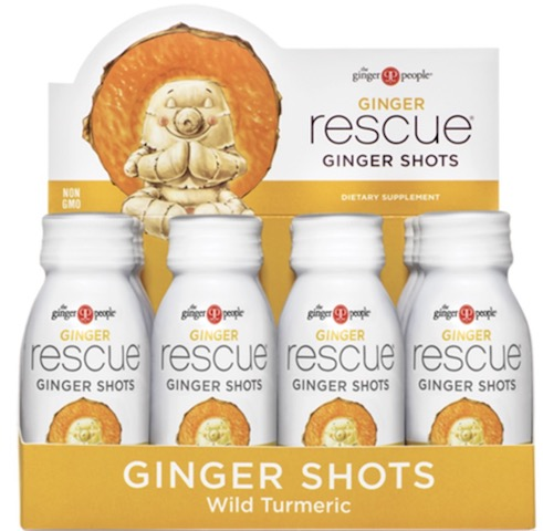 Image of Ginger Rescue GInger Shots Wild Turmeric