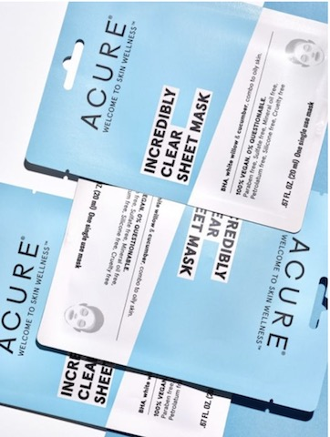 Image of Sheet Mask Incredibly Clear (Combination to Oily Skin)