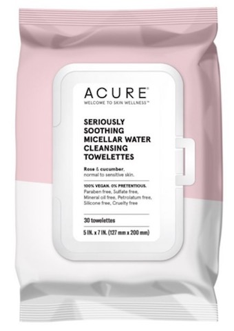 Image of Cleansing Towelettes Seriously Soothing Micellar Water (Normal to Sensitive Skin