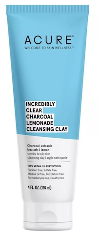 Image of Facial Cleanser Incredibly Clear Charcoal Lemonade Cleansing Clay
