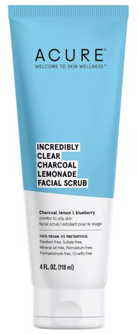 Image of Facial Scrub Incredibly Clear Charcoal Lemonade